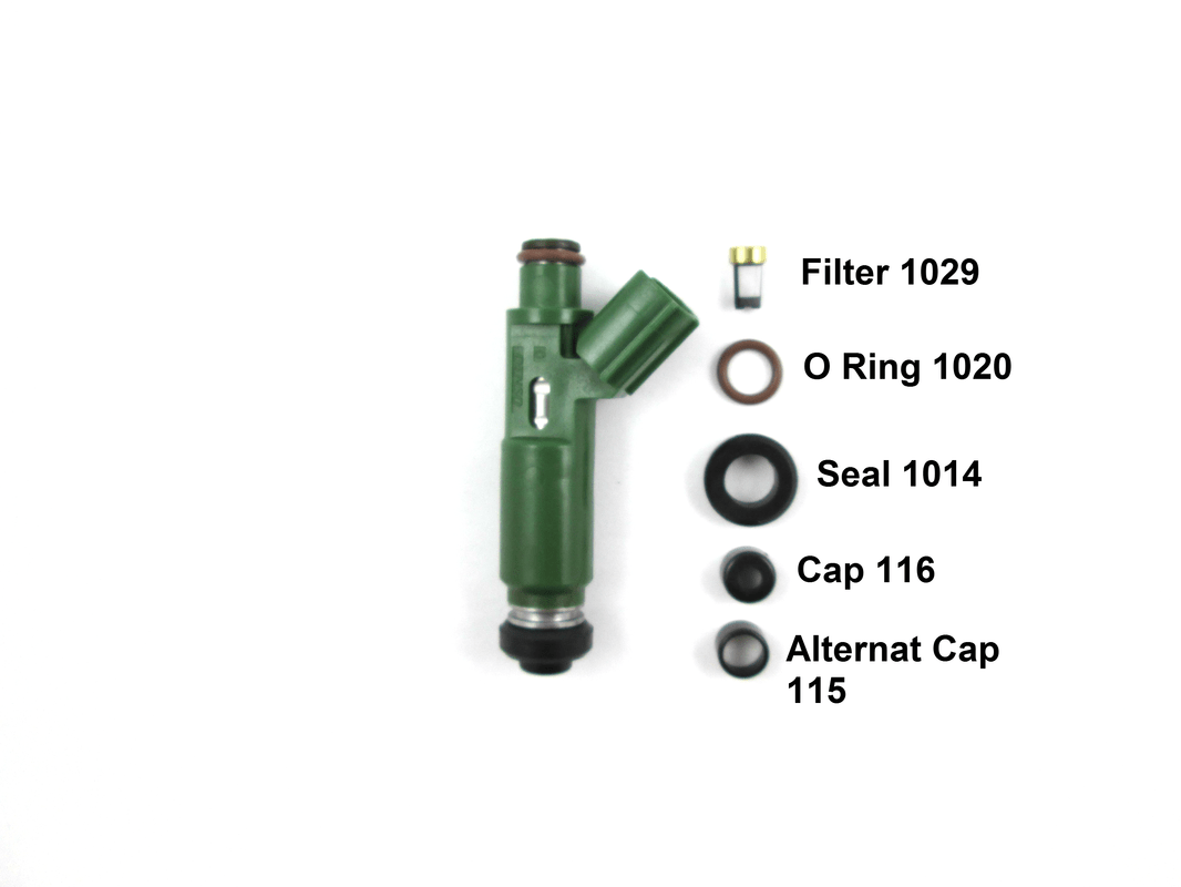 Fuel Injector Parts Application Guide