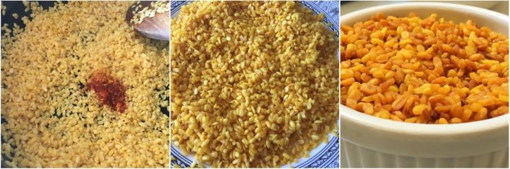 Roasted Yellow moong dal