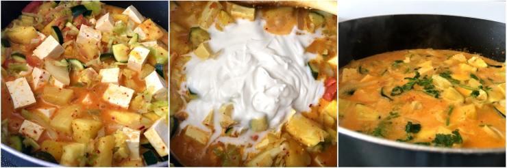 Simple Pineapple Tofu Curry