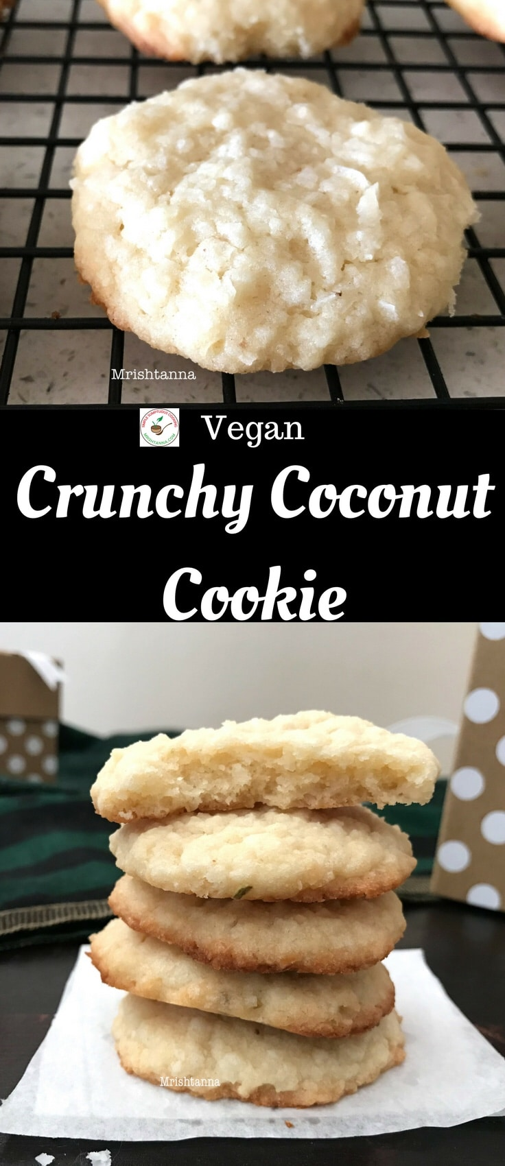 Crunchy Coconut Cookie Recipe