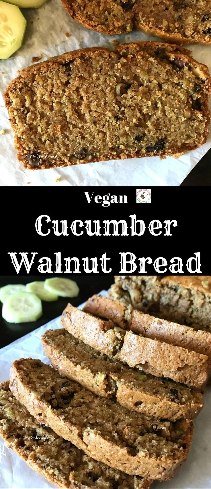 Cucumber Walnut Bread
