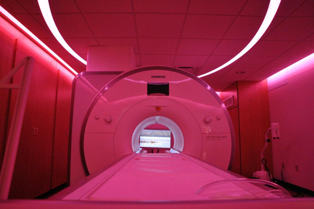 mri, mri news, mri caring suite, mri comfort suite, imaging suite, imaging news, mri stereo, mri patient, mri comfort