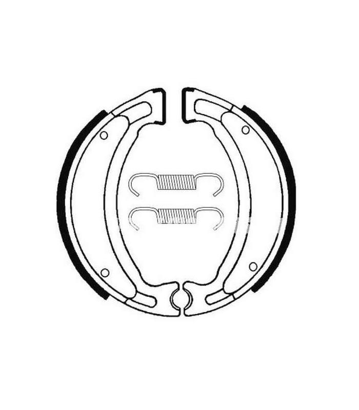 HONDA CA 125 REBEL 1995-1996 MACHOIRES DE FREIN ARRIERE