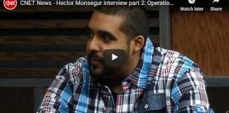 Hector Monsegur interview Operation Tunisia