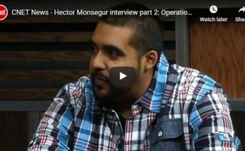 Hector Monsegur interview Operation Tunisia