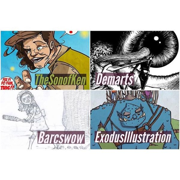 Weekly MJMartprompt artists I received some very cool pieces for this week's #mjmartprompt. Make sure you check them out! Thank you to you all. Here are the four I chose for this week's prompt: @thesonofken @demarts @barcswow @exodusillustration Great work! Jim never loved horses. But now he's become one and he had to defeat a dragon too.