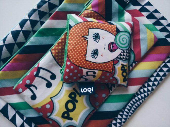 Loqi Zip Pockets