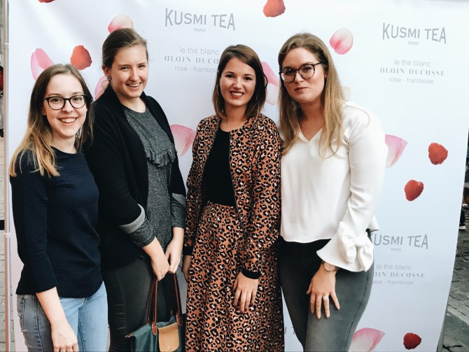 KUSMI TEA BRUSSEL dagboek mrjln