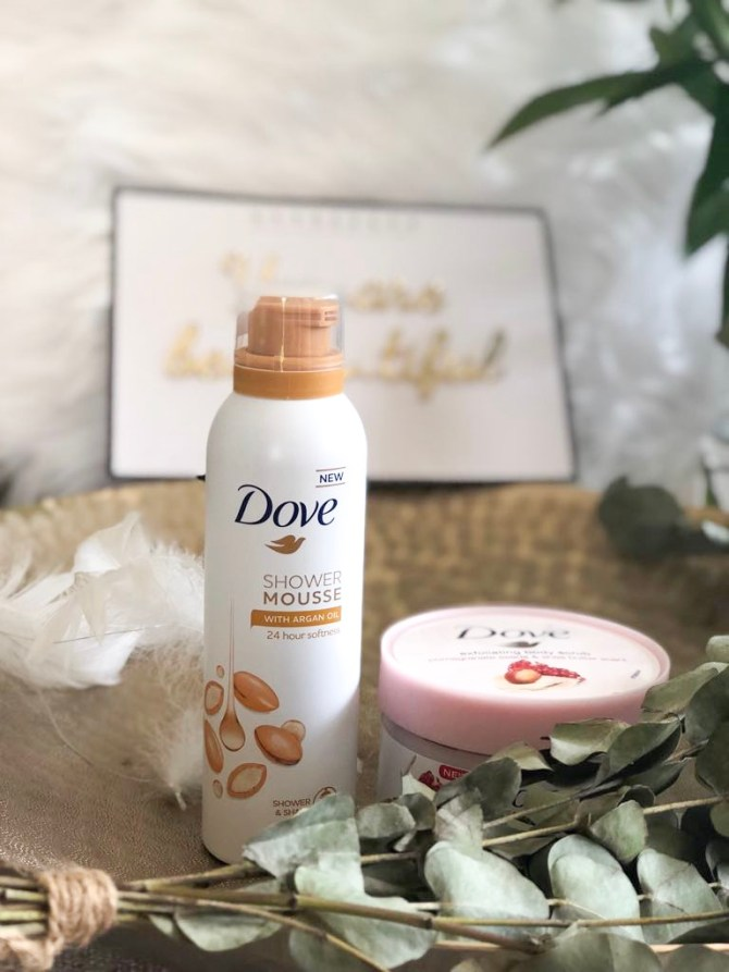 Dovely Moments Shower Mousse en Exfoliating Body Polish MRJLN Simply say Marjolein