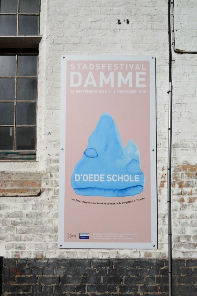 d'Oede Schole Visit Damme Stadsfestival MRJLN Simply Say Marjolein