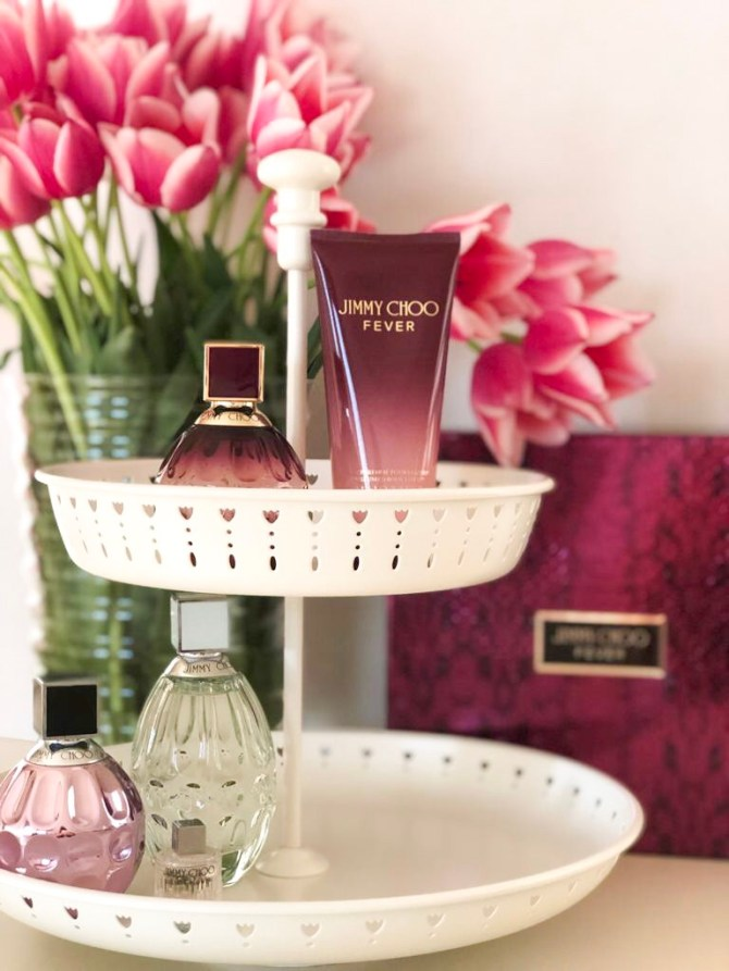 Jimmy choo fever parfumcollectie