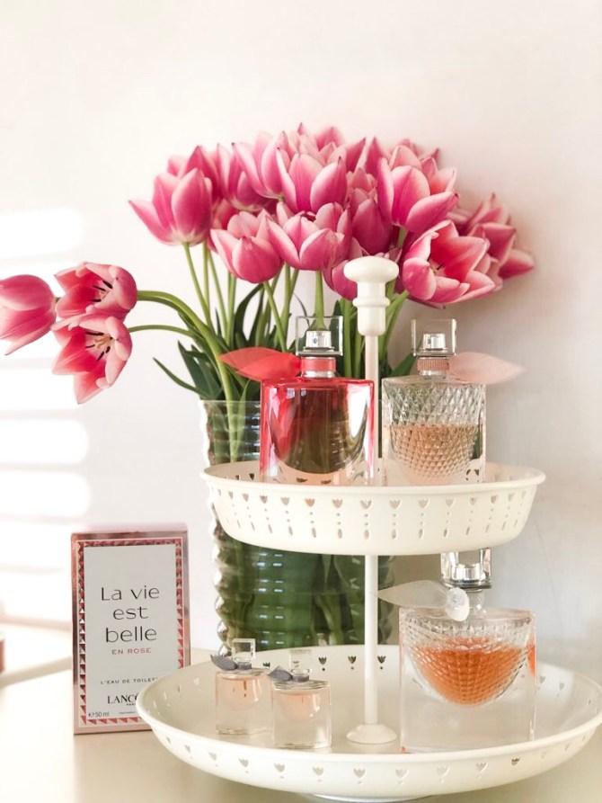 Lancôme la vie est belle en rose parfumcollectie