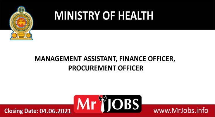 Ministry of Health Vacancies