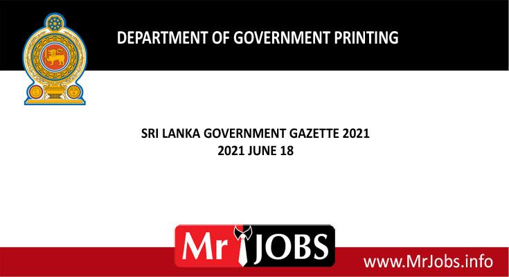Government Official Gazette