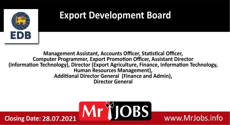Export Development Board Vacancies