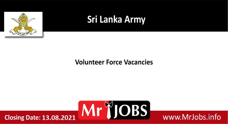 Volunteer Force Vacancies