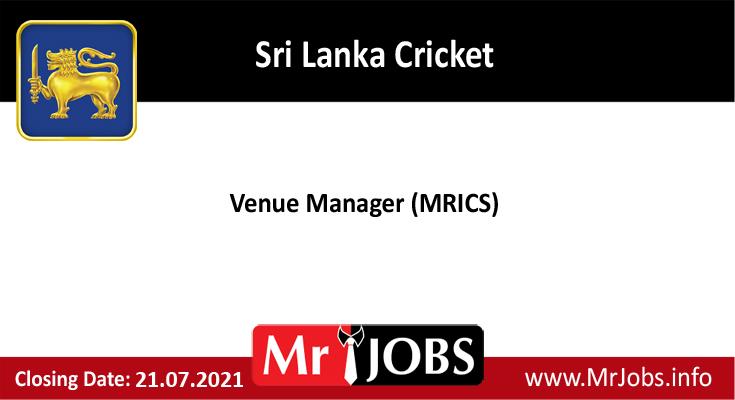 Sri Lanka Cricket Vacancies