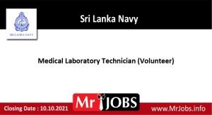 Medical Laboratory Technician Vacancies