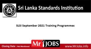 Sri Lanka Standards Institution courses