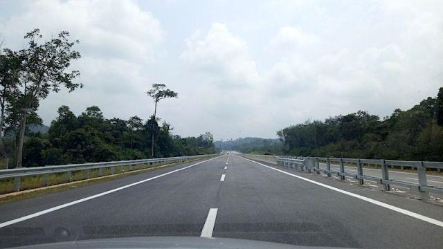 Highway Baru Padang Tengku Ke Gua Musang