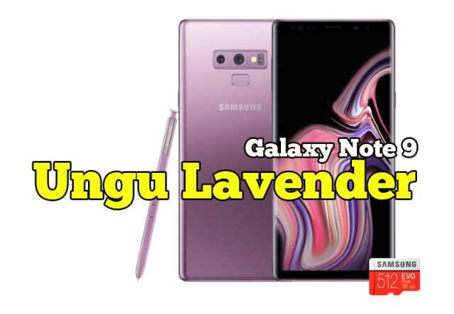 Samsung Galaxy Note9 Lavender Purple