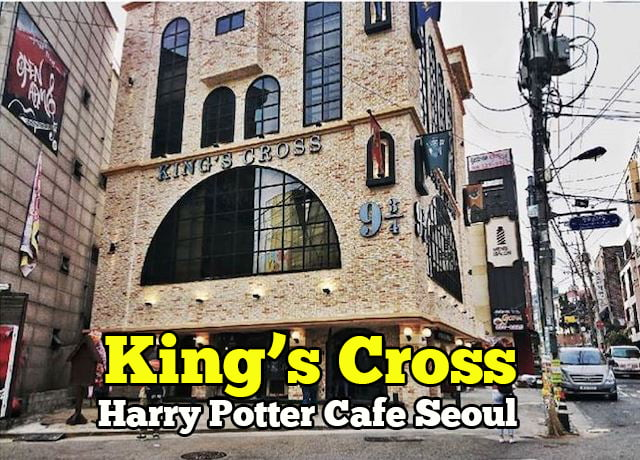 kings cross harry potter cafe seoul