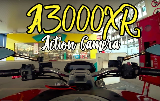 Action Camera Sony X3000R Untuk Rakaman Video