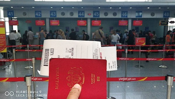 pengalaman terbang dengan VietJet