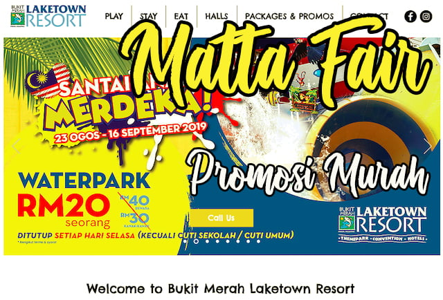 promosi murah matta fair 2019 bukit merah laketown resort