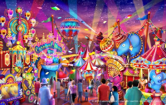 Carnival-Magic-Park-Phuket Tarikan Terbaru Di Thailand 04