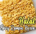 Halal Spicy Ramen Korea