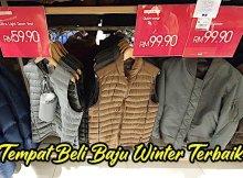 Tempat Beli Baju Winter Terbaik di KL