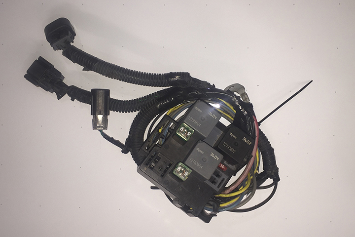 Chevy Truck Oem 05 Electric Radiator Fans Harness