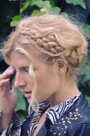 kate - diy swiss braids braid