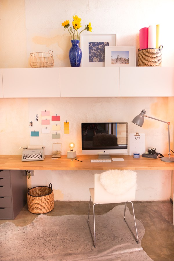 Kate - Built In Wall Desk Budget
