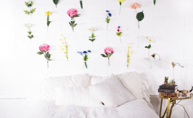 Mr Kate Diy Flower Wall