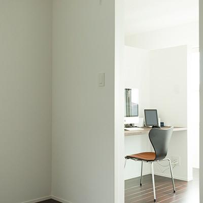 書斎は自分の時間を満喫できる空間