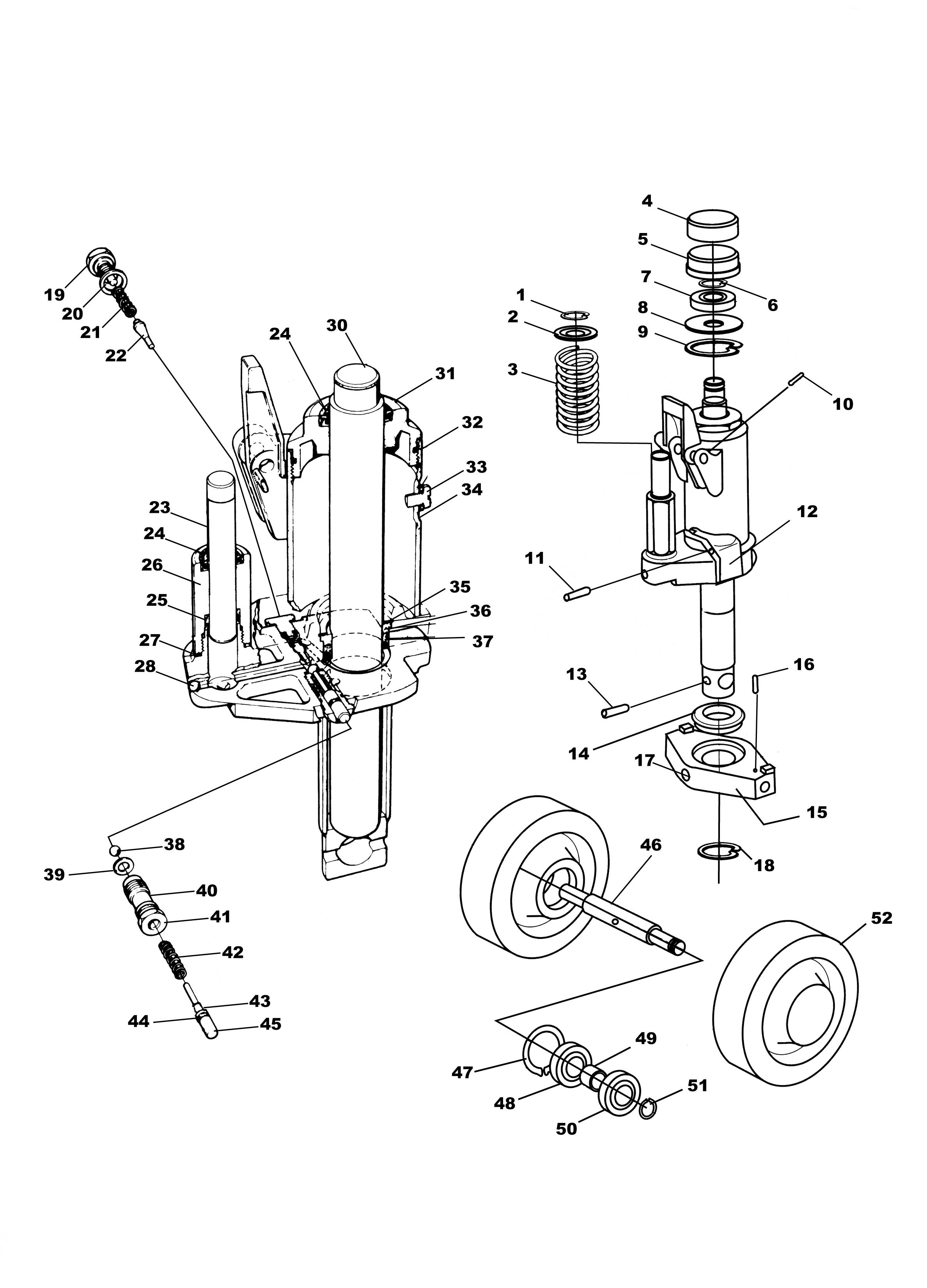 blackhawk floor jack parts diagram nissan pickup radio wiring lincoln free engine image for