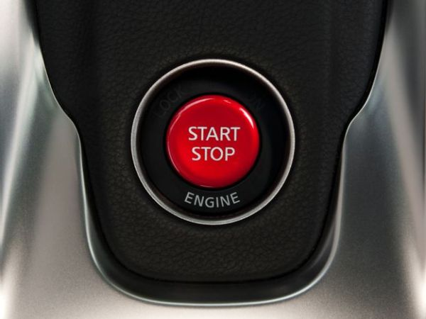 This is the Nissan Push To Start Button