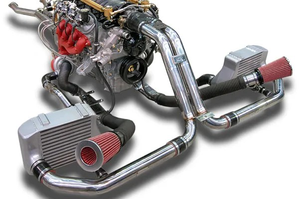 This is the Twin Turbo Kit