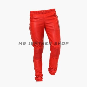 Red Leather Trousers