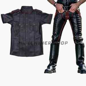 Gay Leather Uniform