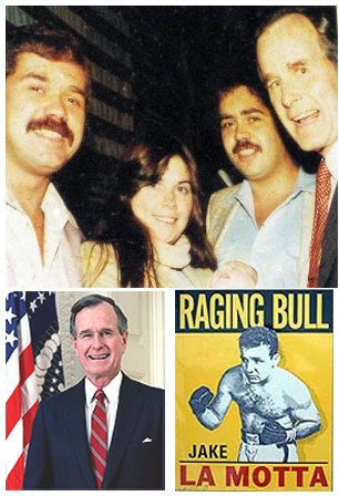 During the 1984 presidental campaign, GW Bush visits Krugs in Newark.