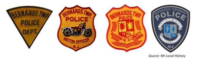 Bernards Township Police Department Patches