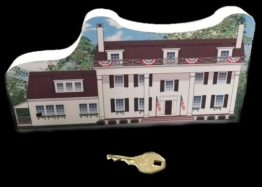 The 1777 historic Boudinout House is now a member of the Somerset Hills Historic Village Wooden Keepsake Collection - Get yours now. #mrlocalhistory