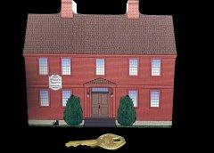 Widow White's Tavern 7th Wooden Historic Village Keepsake