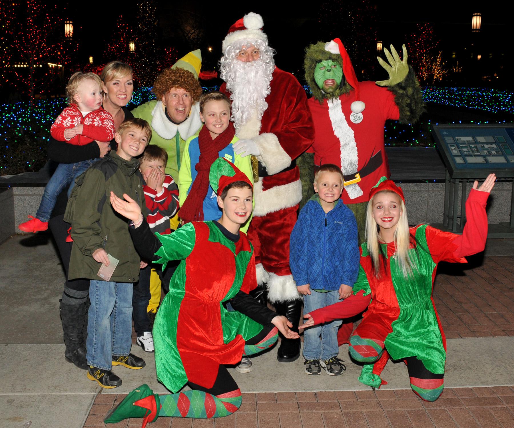 Santa Claus And Elves