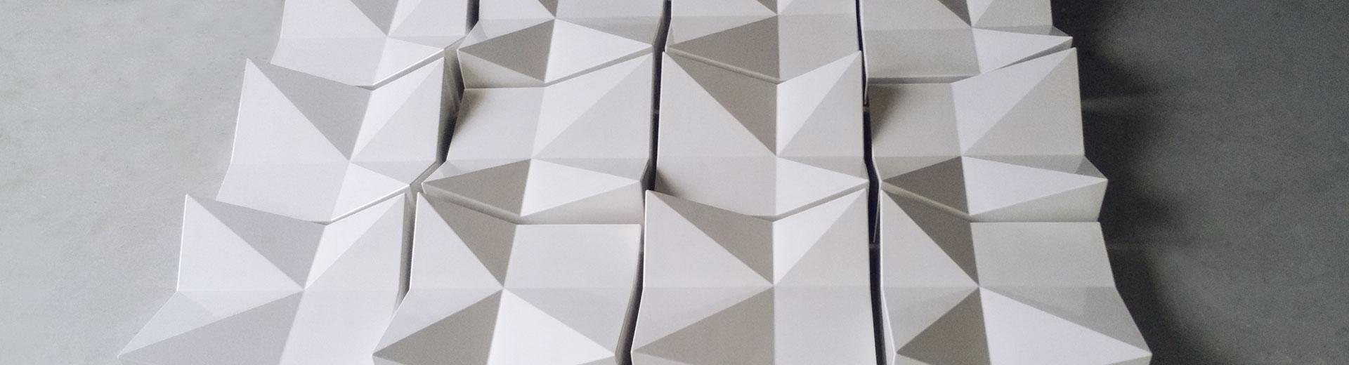 Kachel Gießkeramik Fassade