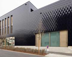 3D Ceramic tiled facade
