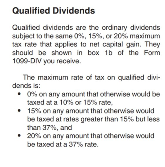 What are qualified dividends? IRS